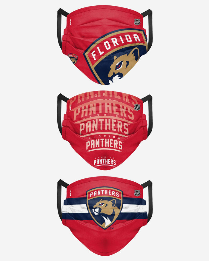 Florida Panthers Matchday 3 Pack Face Cover FOCO - FOCO.com