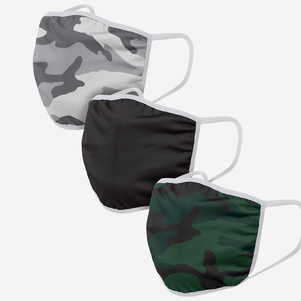 Camo 3 Pack Face Cover FOCO - FOCO.com