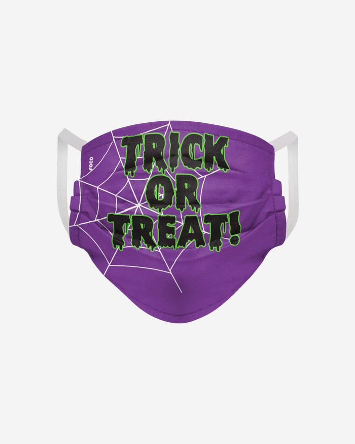Trick Or Treat Pleated Face Cover FOCO - FOCO.com
