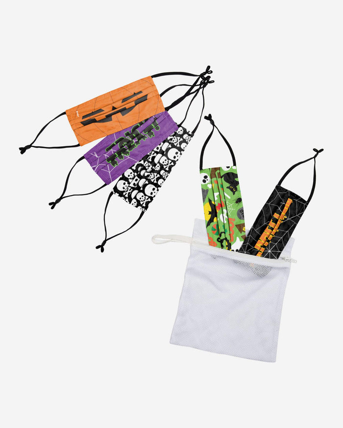 Halloween Youth Adjustable 5 Pack Face Cover FOCO - FOCO.com