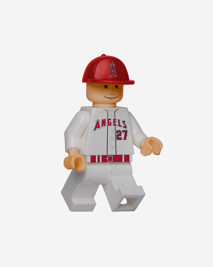 Mike Trout Los Angeles Angels BRXLZ Minifigure FOCO - FOCO.com