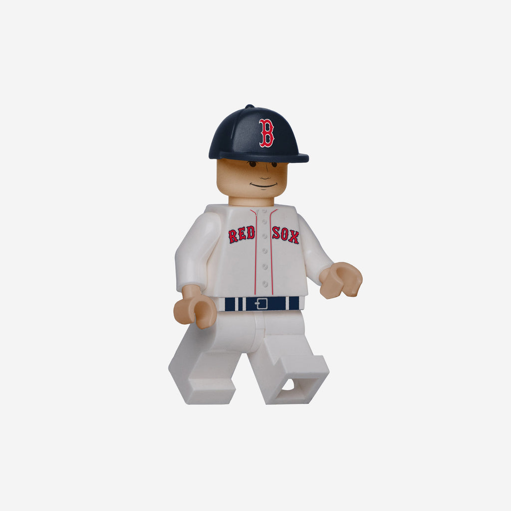 Dustin Pedroia Boston Red Sox BRXLZ Minifigure