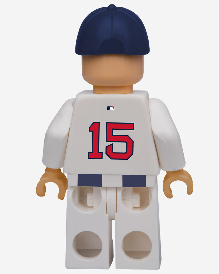 Dustin Pedroia Boston Red Sox BRXLZ Minifigure FOCO - FOCO.com