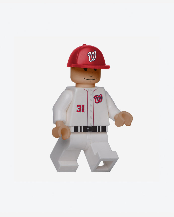 Max Scherzer Washington Nationals BRXLZ Minifigure FOCO - FOCO.com