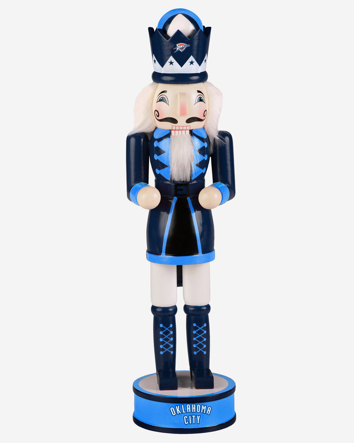 Oklahoma City Thunder Holiday Nutcracker FOCO - FOCO.com