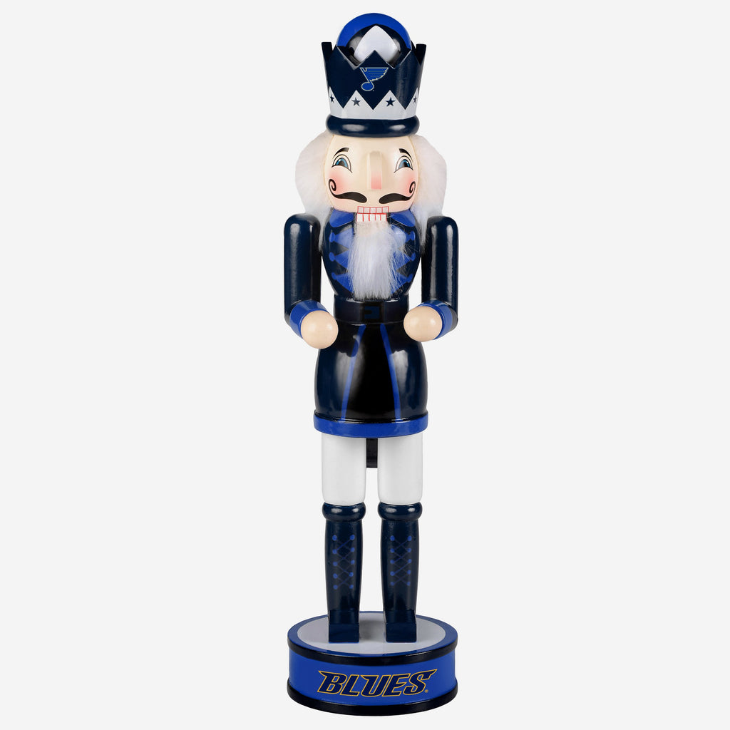 St Louis Blues Holiday Nutcracker