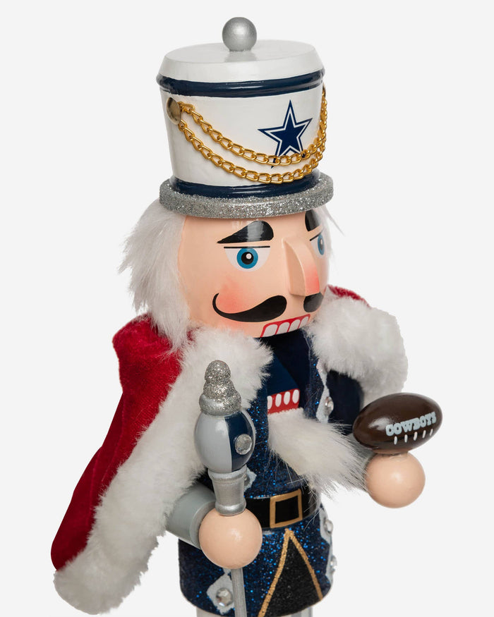 Dallas Cowboys Glitter Nutcracker FOCO - FOCO.com