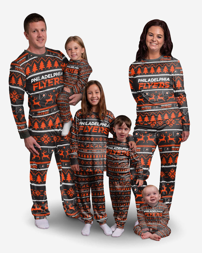 Philadelphia Flyers Family Holiday Pajamas FOCO - FOCO.com