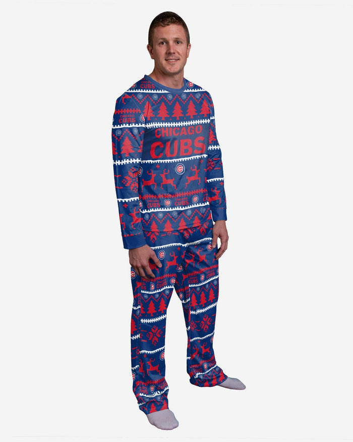 Chicago Cubs Family Holiday Pajamas FOCO S - FOCO.com