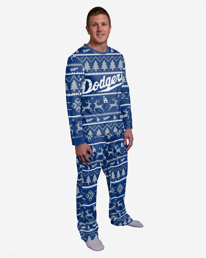 Los Angeles Dodgers Family Holiday Pajamas FOCO S - FOCO.com