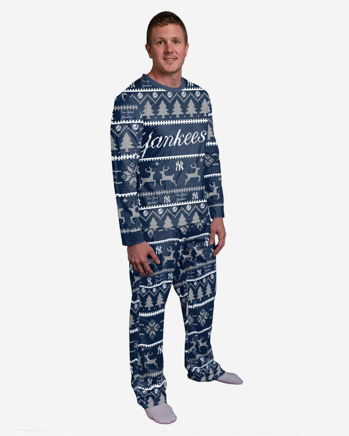 New York Yankees Family Holiday Pajamas FOCO S - FOCO.com