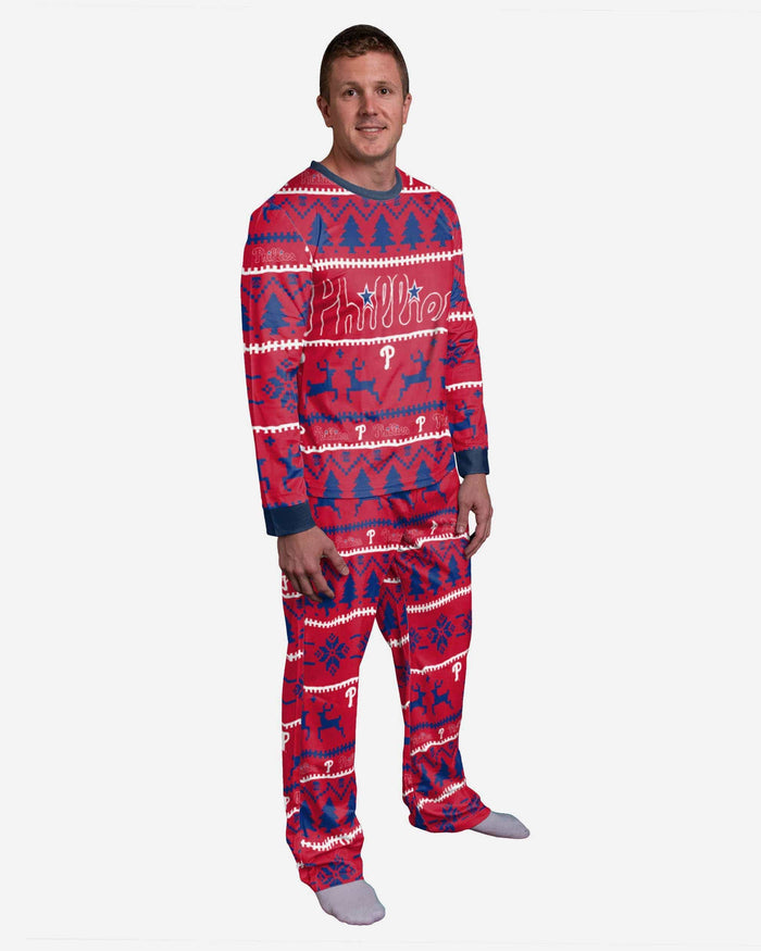 Philadelphia Phillies Family Holiday Pajamas FOCO S - FOCO.com