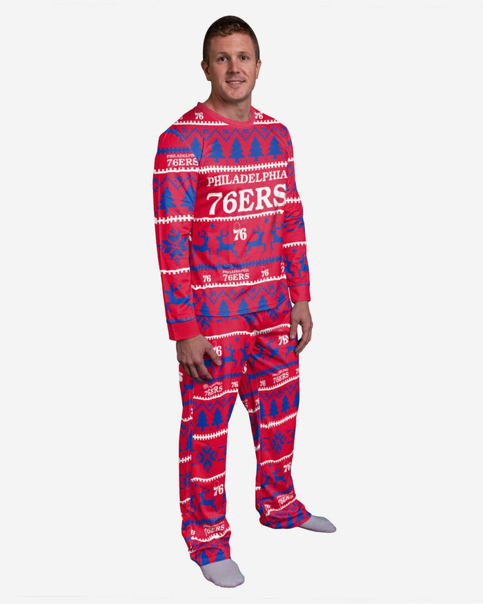 Philadelphia 76ers Family Holiday Pajamas FOCO S - FOCO.com