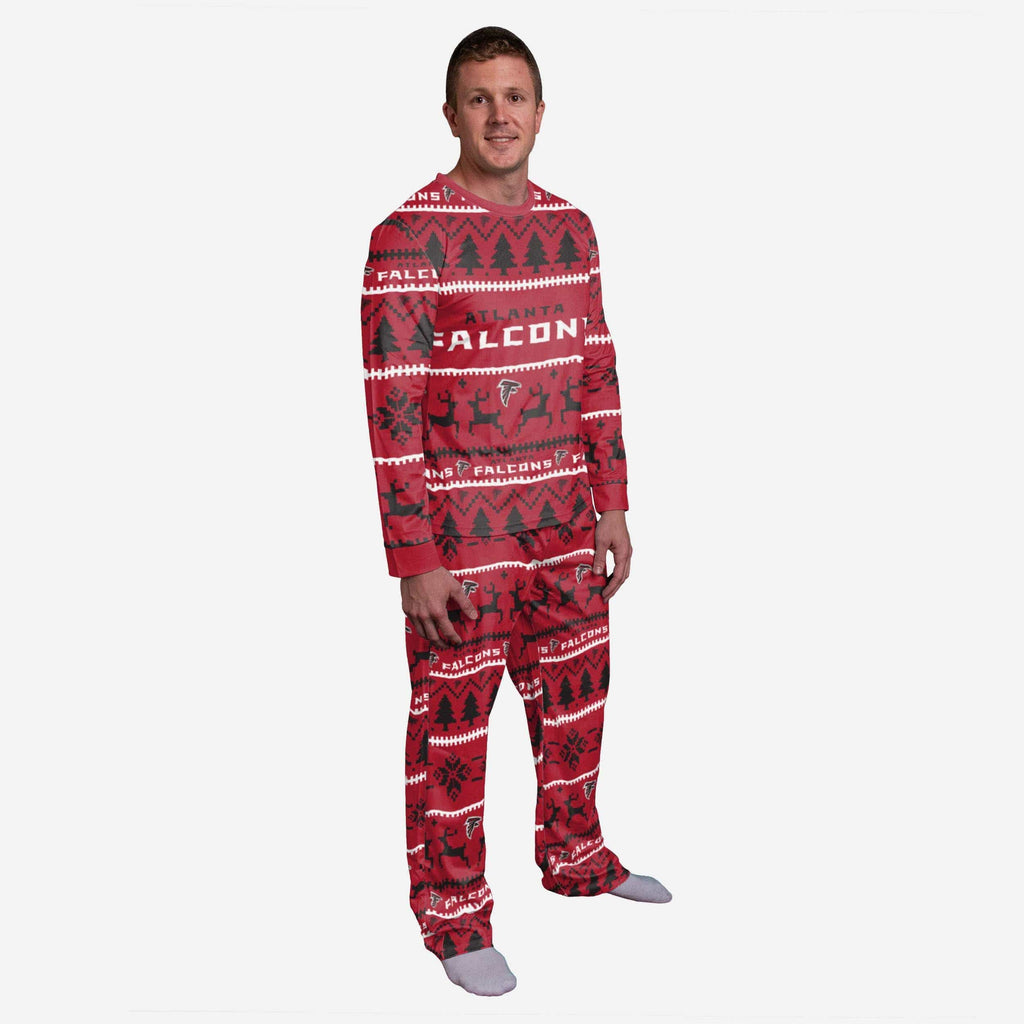 Atlanta Falcons Family Holiday Pajamas FOCO S - FOCO.com