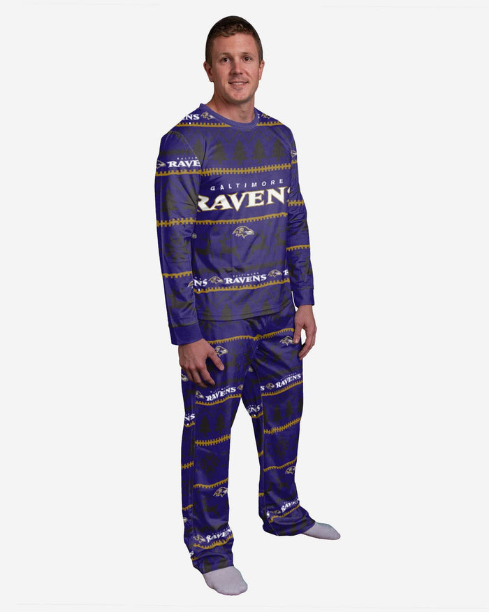 Baltimore Ravens Family Holiday Pajamas FOCO S - FOCO.com