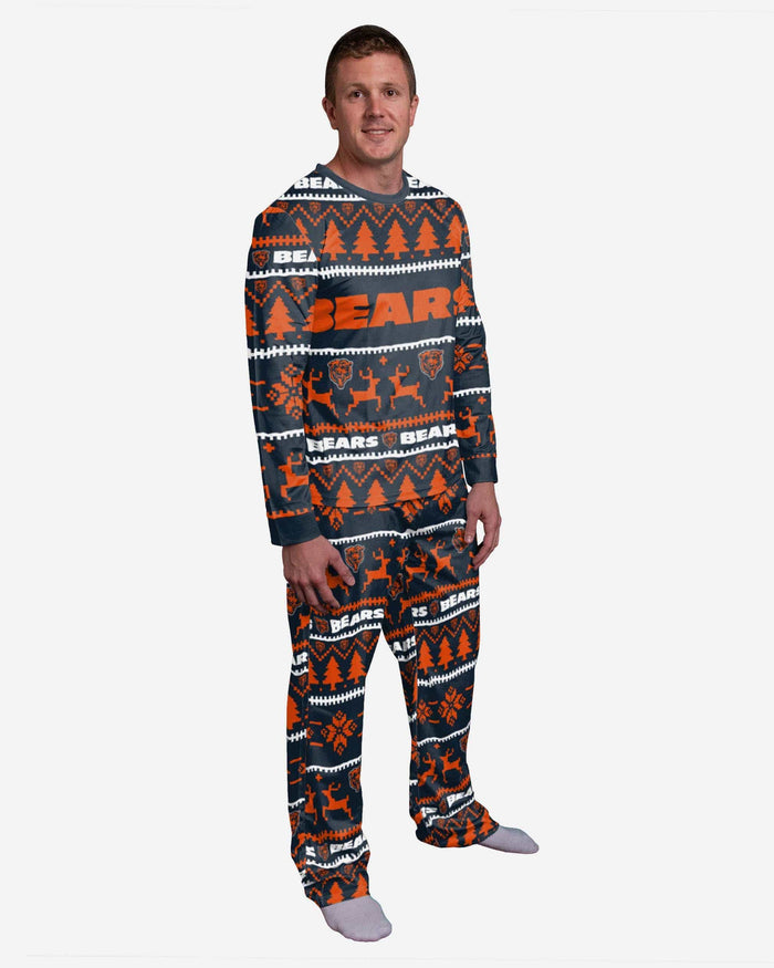 Chicago Bears Family Holiday Pajamas FOCO S - FOCO.com