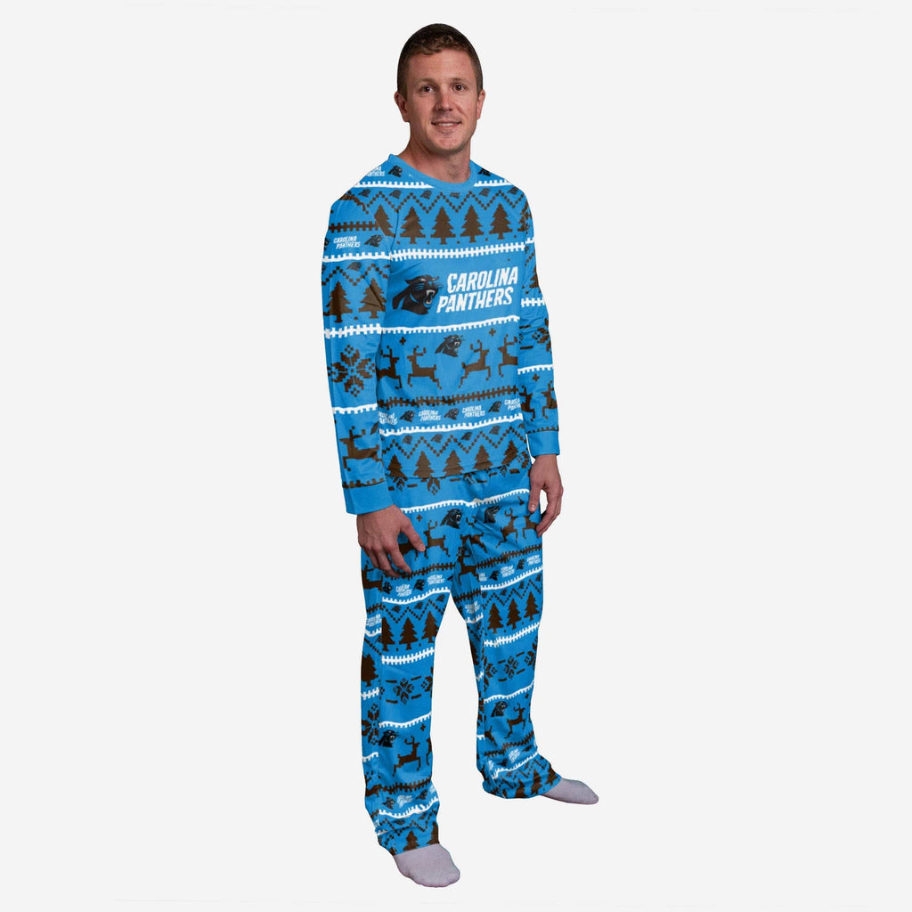 Carolina Panthers Family Holiday Pajamas FOCO S - FOCO.com