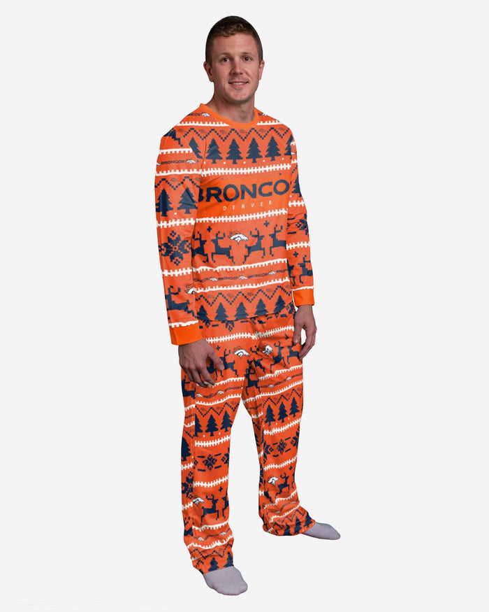 Denver Broncos Family Holiday Pajamas FOCO S - FOCO.com