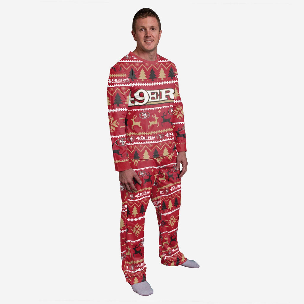 San Francisco 49ers Family Holiday Pajamas FOCO S - FOCO.com