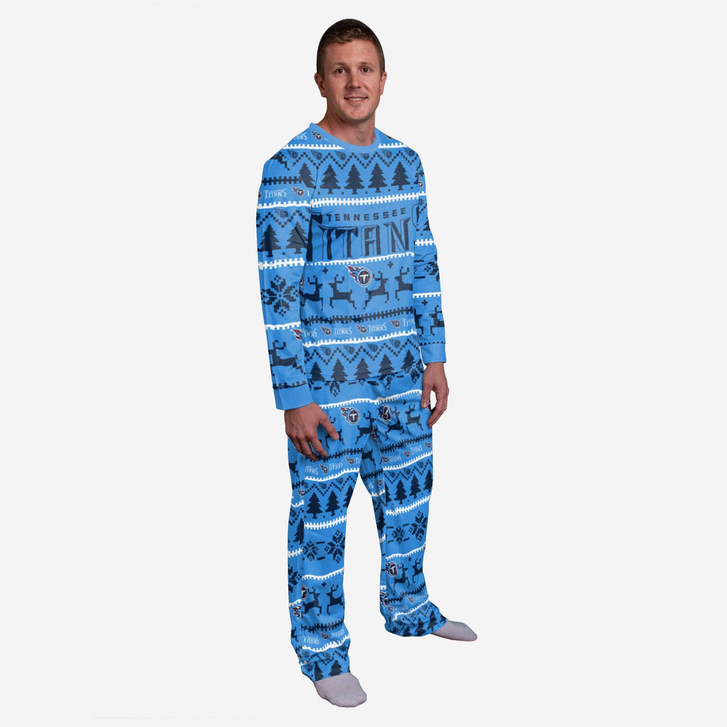 Tennessee Titans Family Holiday Pajamas FOCO S - FOCO.com