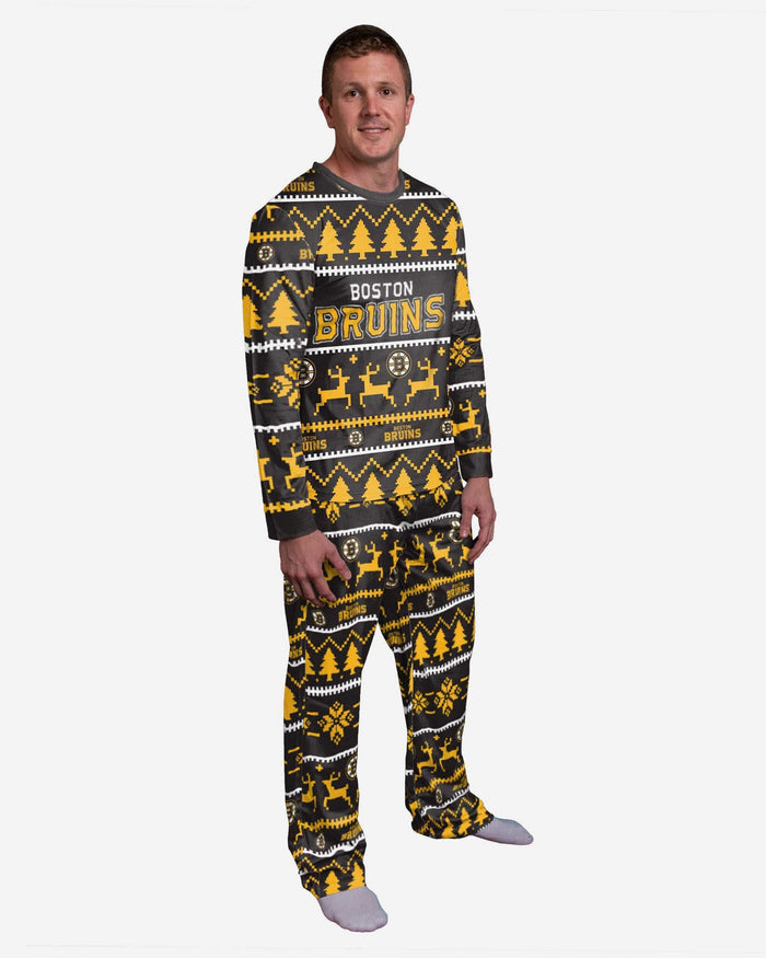 Boston Bruins Family Holiday Pajamas FOCO S - FOCO.com