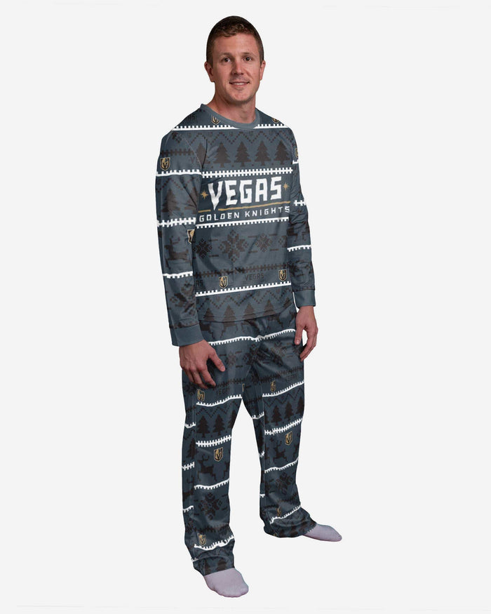 Vegas Golden Knights Family Holiday Pajamas FOCO S - FOCO.com