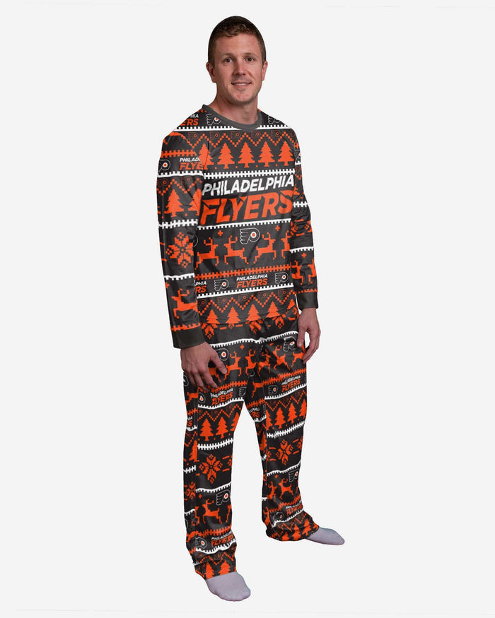 Philadelphia Flyers Family Holiday Pajamas FOCO S - FOCO.com