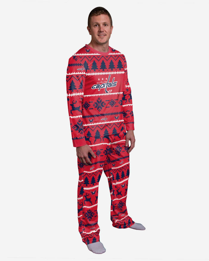 Washington Capitals Family Holiday Pajamas FOCO S - FOCO.com