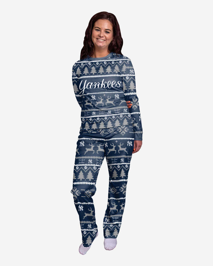 New York Yankees Womens Family Holiday Pajamas FOCO S - FOCO.com