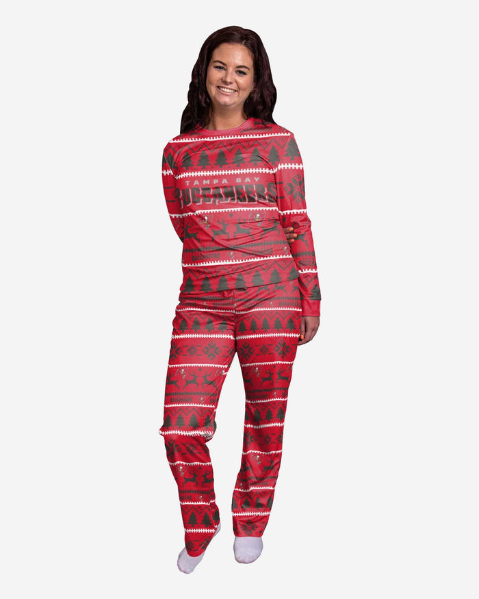 Tampa Bay Buccaneers Womens Family Holiday Pajamas FOCO S - FOCO.com