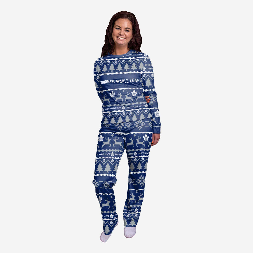 Toronto Maple Leafs Womens Family Holiday Pajamas FOCO S - FOCO.com