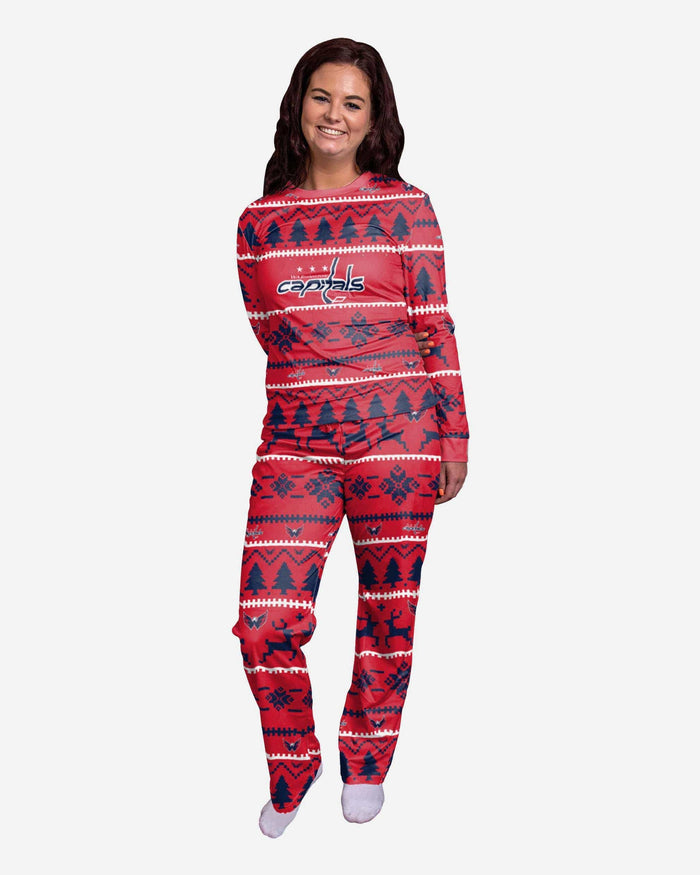 Washington Capitals Womens Family Holiday Pajamas FOCO S - FOCO.com