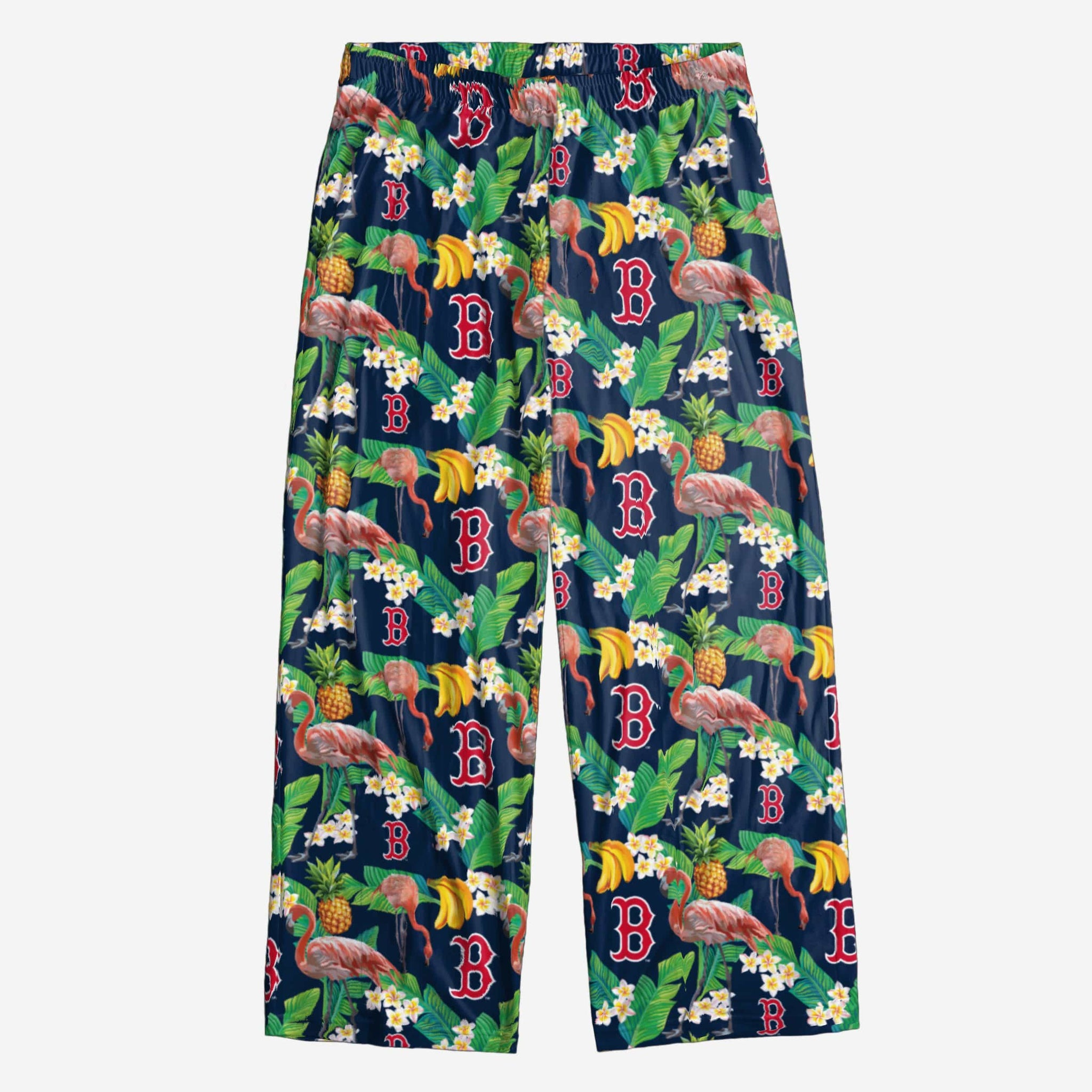 Boston Red Sox Floral Polyester Pant