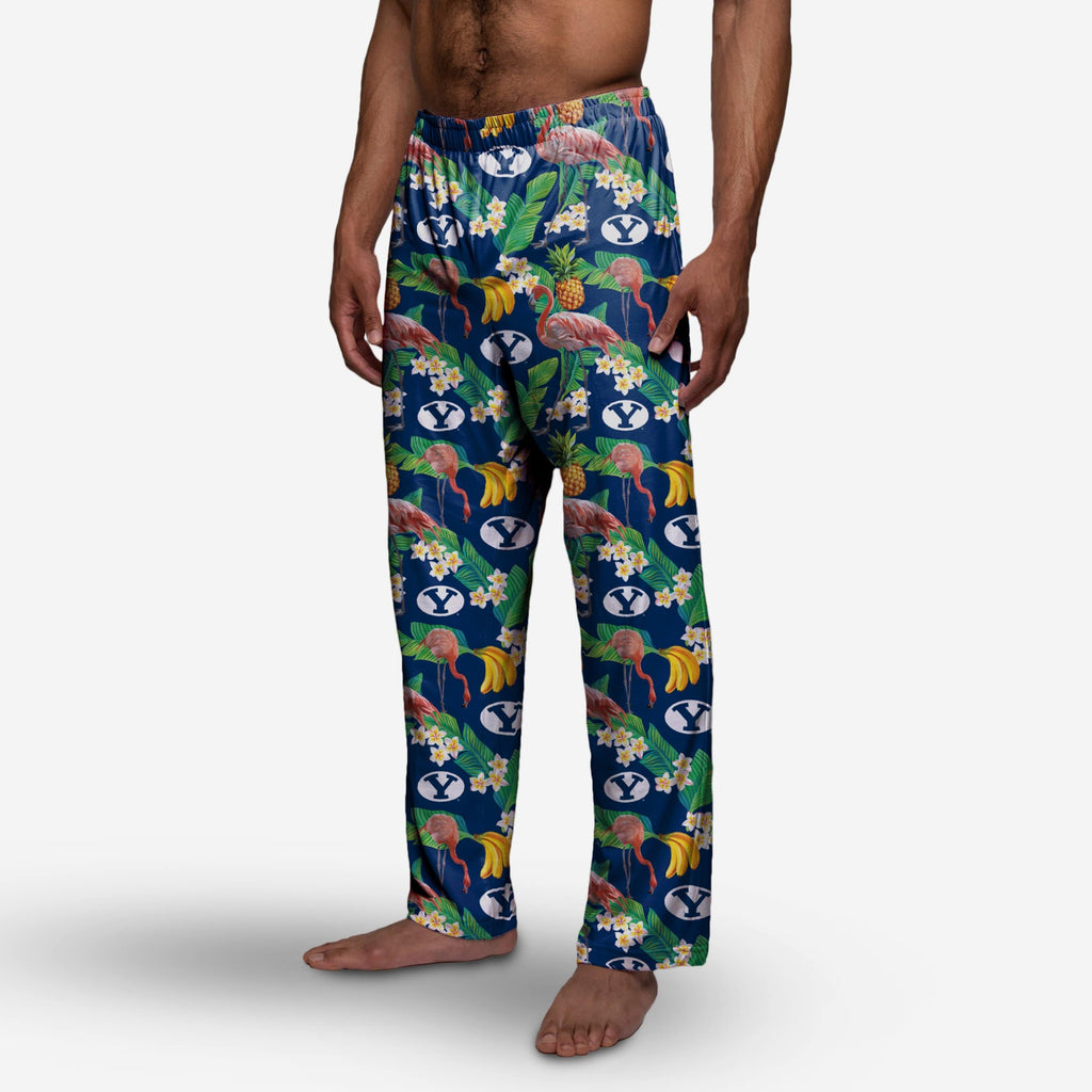 BYU Cougars Floral Polyester Pant FOCO - FOCO.com