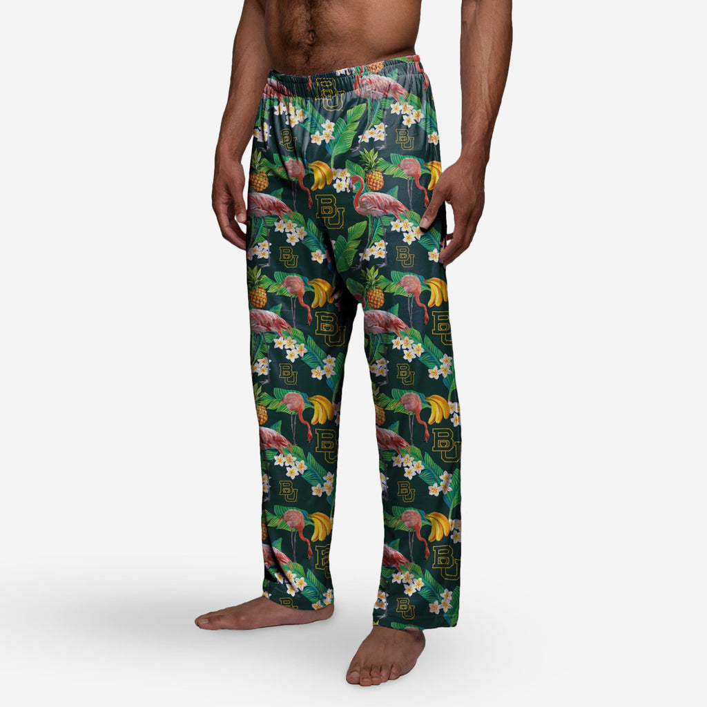 Baylor Bears Floral Polyester Pant