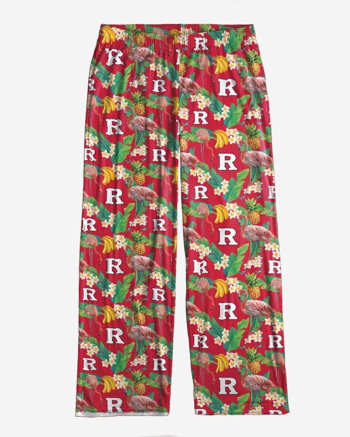 Rutgers Scarlet Knights Floral Polyester Pant FOCO - FOCO.com