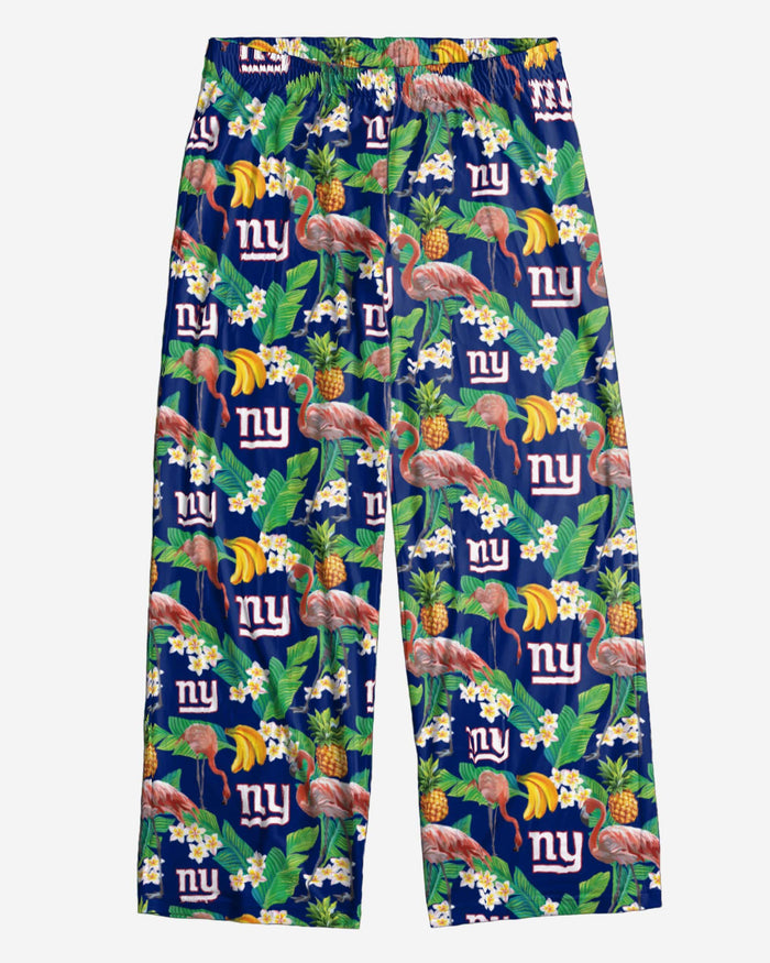 New York Giants Floral Polyester Pant FOCO - FOCO.com