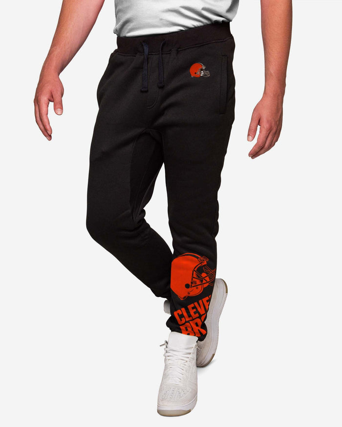 Cleveland Browns Run The Game Team Joggers FOCO S - FOCO.com