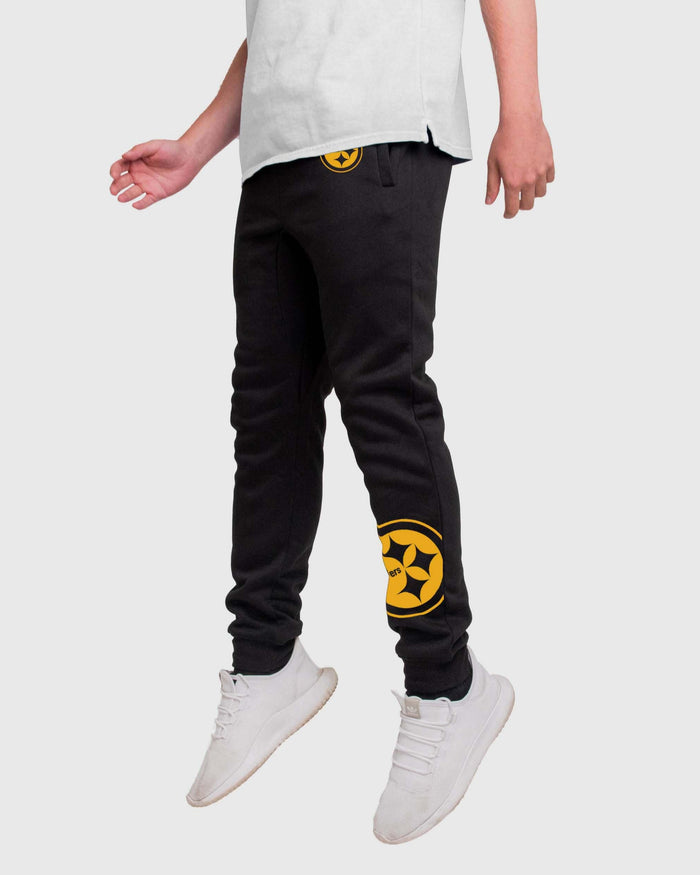Pittsburgh Steelers Run The Game Team Joggers FOCO - FOCO.com