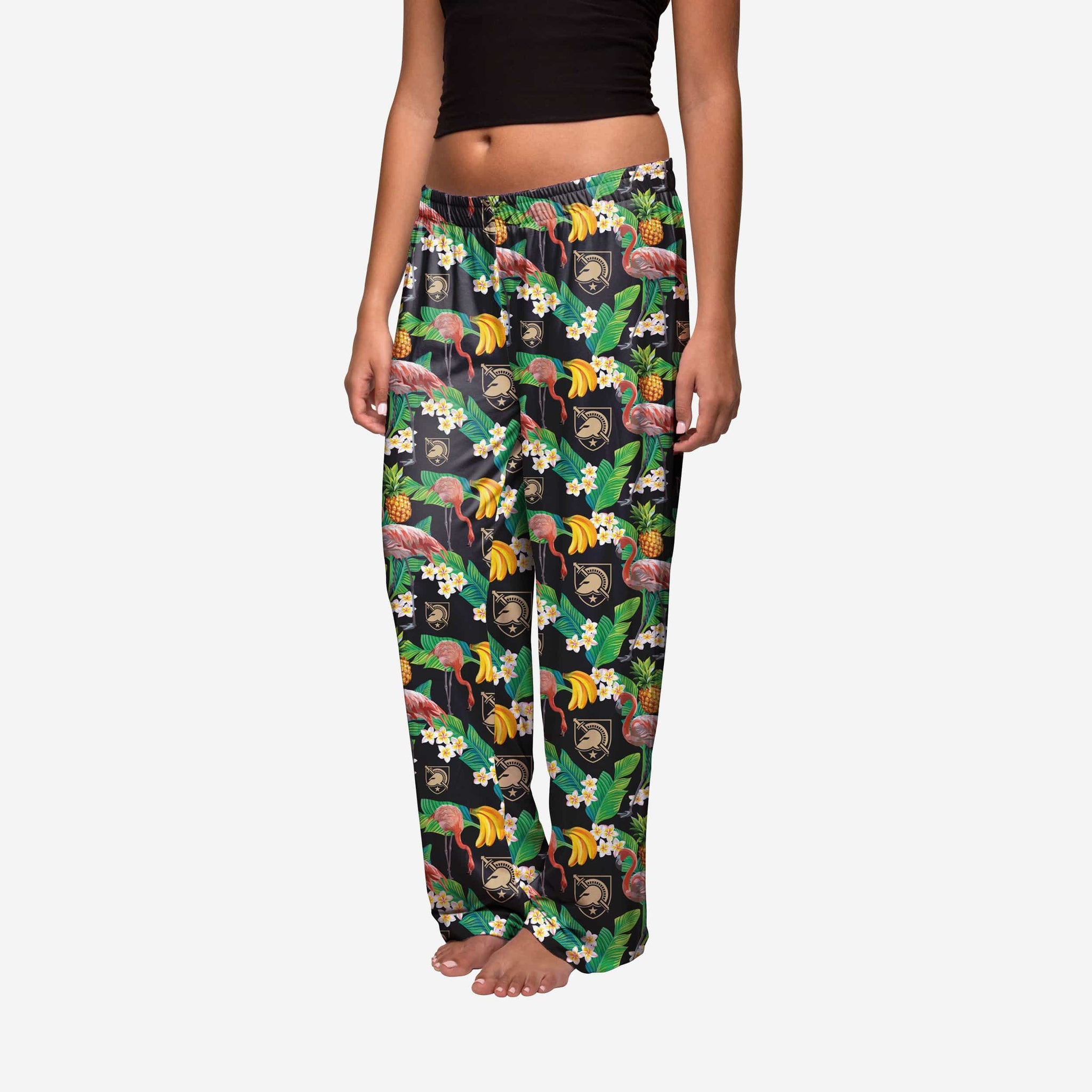 Army Black Knights Womens Floral Polyester Pant