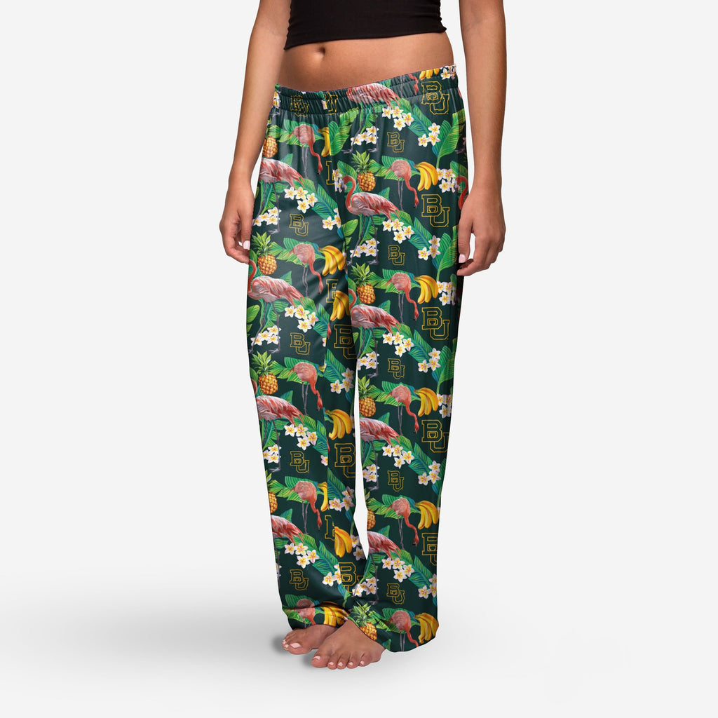 Baylor Bears Womens Floral Polyester Pant FOCO - FOCO.com