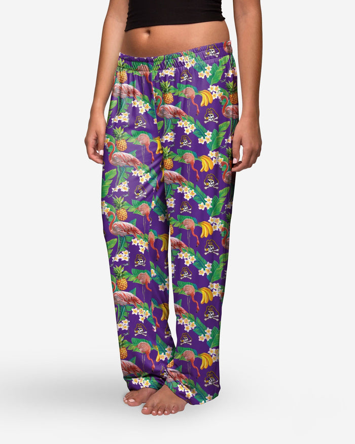 East Carolina Pirates Womens Floral Polyester Pant FOCO - FOCO.com