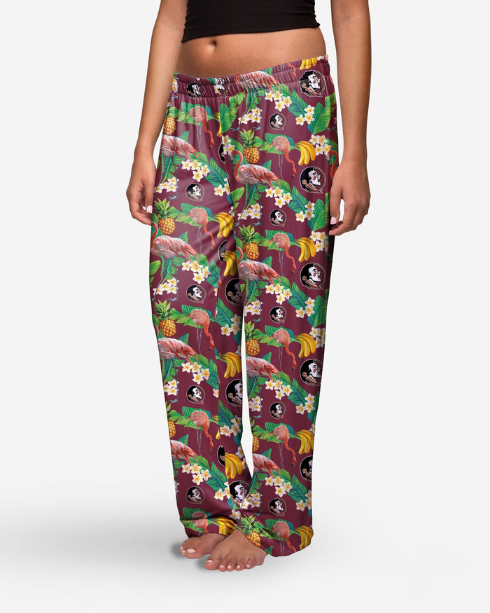 Florida State Seminoles Womens Floral Polyester Pant FOCO - FOCO.com