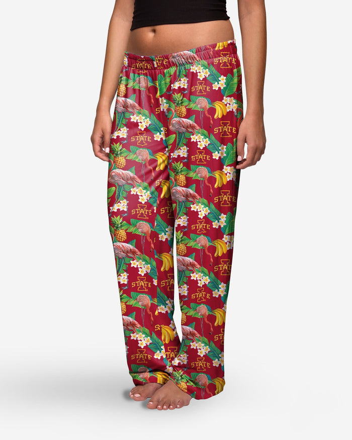 Iowa State Cyclones Womens Floral Polyester Pant FOCO - FOCO.com