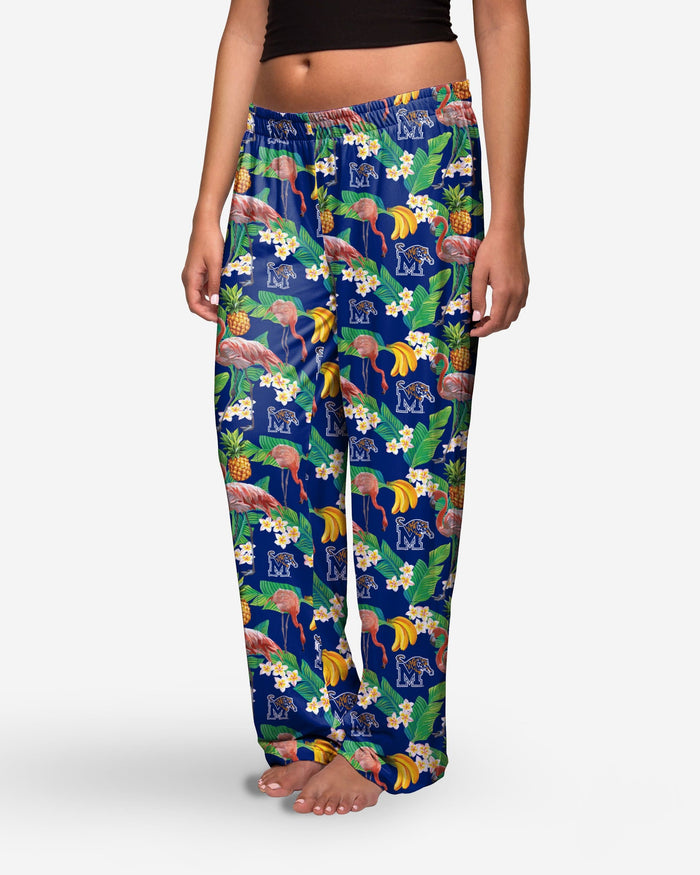 Memphis Tigers Womens Floral Polyester Pant FOCO - FOCO.com