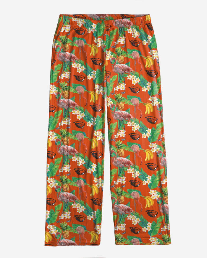 Oregon State Beavers Womens Floral Polyester Pant FOCO - FOCO.com