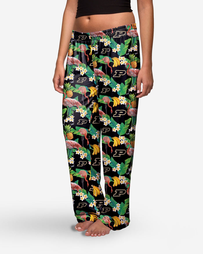 Purdue Boilermakers Womens Floral Polyester Pant FOCO - FOCO.com