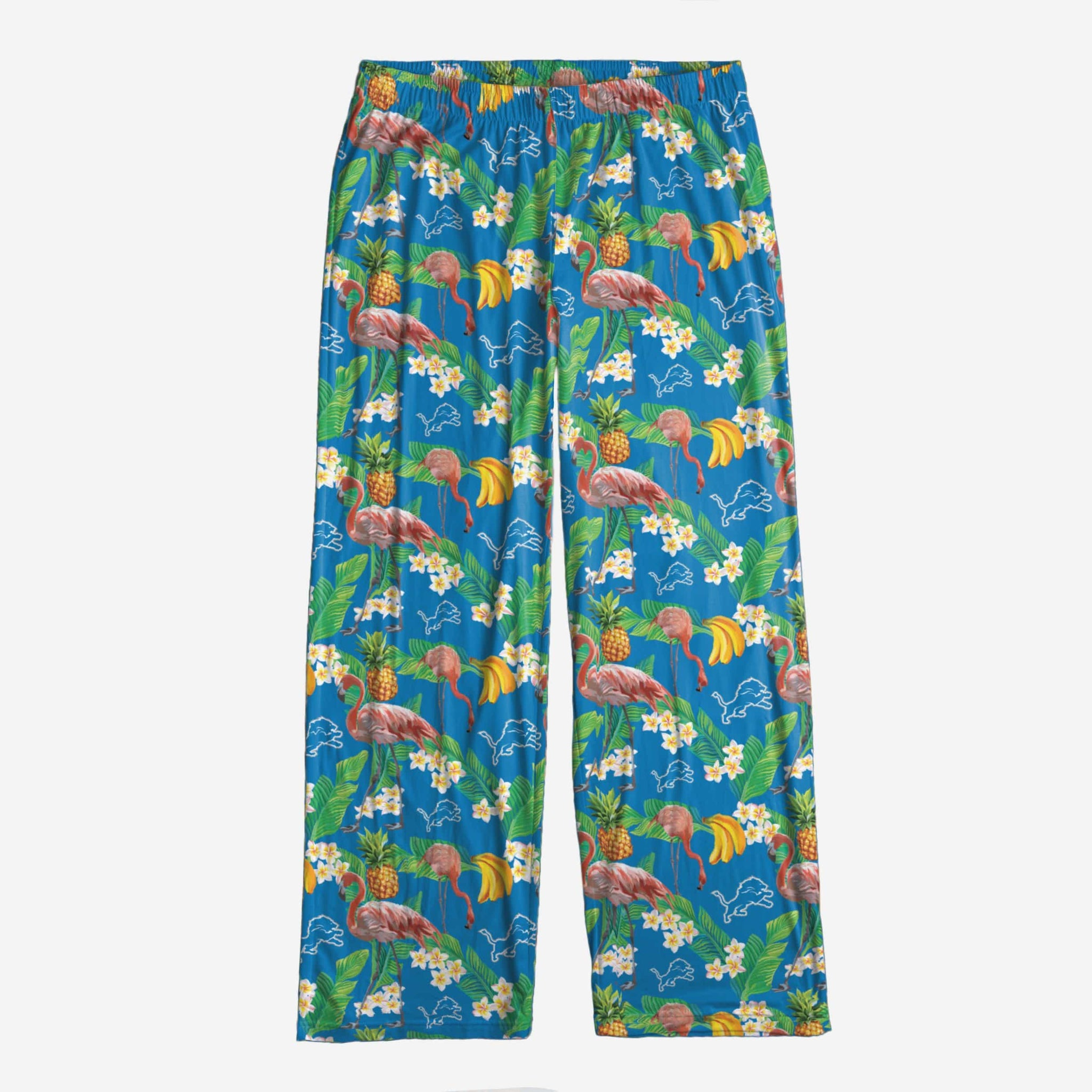 Detroit Lions Womens Floral Polyester Pant FOCO - FOCO.com