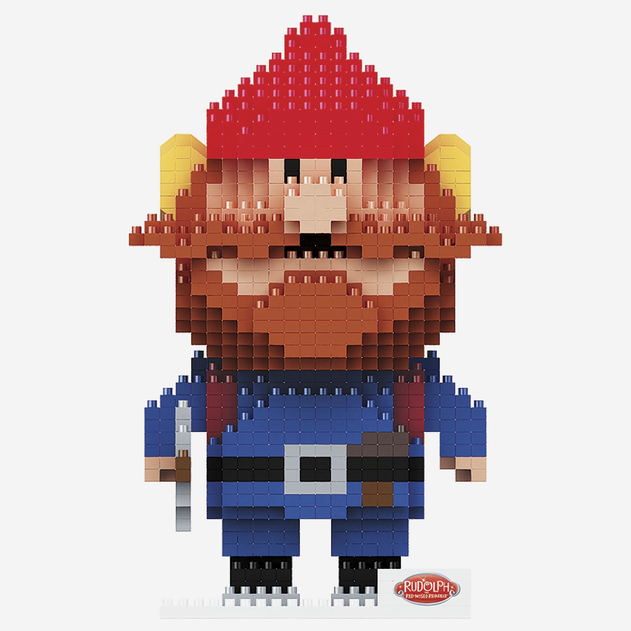 Yukon Cornelius Rudolph the Red Nosed Reindeer BRXLZ Character