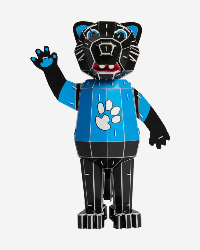 Sir Purr Carolina Panthers PZLZ Mascot FOCO - FOCO.com